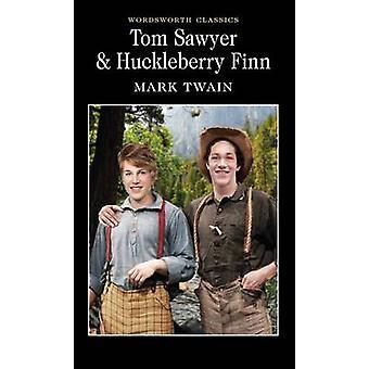 Tom Sawyer and Huckleberry Finn by Mark Twain - Stuart Hutchinson - K