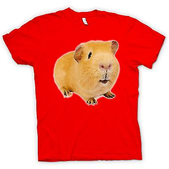 Dame T-shirt - marsvin 2 - selskabsdyr