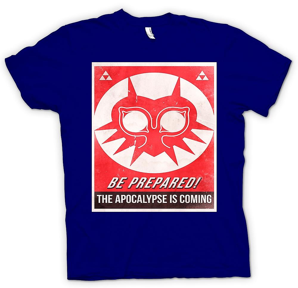 Mens T-shirt - Be Prepared, The Apocolypse Is Coming