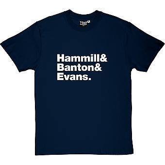 Van der Graaf Generator Line-Up Men's T-Shirt