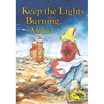 Houden van de lichten branden, Abbie (Rainbow leesboek)