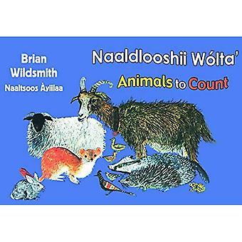 Brian Wildsmith's Animals to Count (Navajo/English)