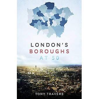 Londons stadsdelar på 50