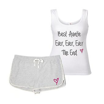 Best Auntie Ever Ever The End Pyjama Set