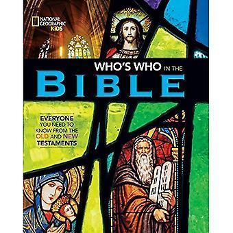 Nationale geografische Kids Wie is wie in de Bijbel
