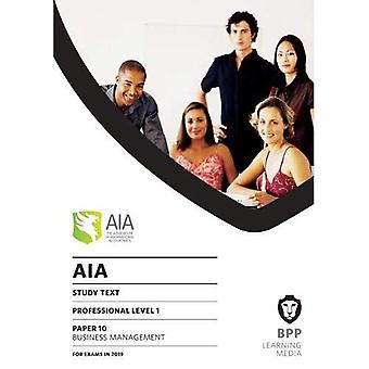 AIA 10 Business Management:� Study Text