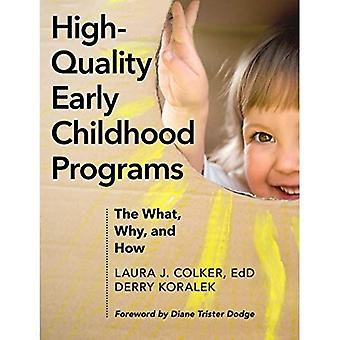 High-Quality Early Childhood� Programs: The What, Why, and How
