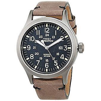 Timex Analog quartz men's watch with leather TW4B01700