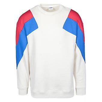 Urban Classics Herren Sweatshirt Oversize 3-Tone
