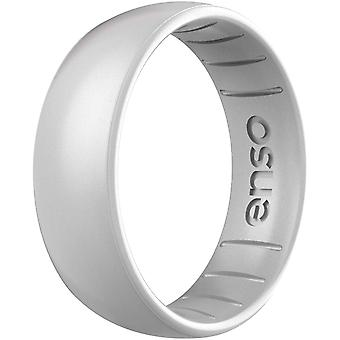 Enso Rings Classic Elements Series Silicone Ring - Silver