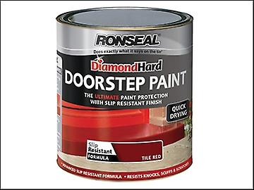Ronseal Diamond Hard Doorstep Paint Tile Red 750ml