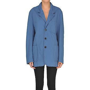 Marni Blue Cotton Outerwear Jacket