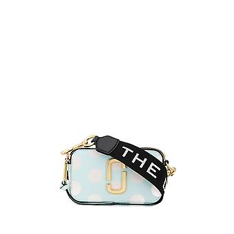 Marc Jacobs Light Blue Leather Shoulder Bag