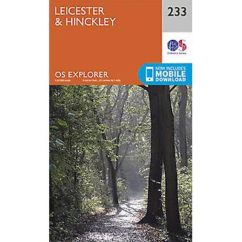 Leicester and Hinckley (September 2015 ed) by Ordnance Survey - 97803