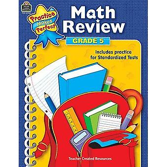 Math Review Grade 5 by Mary Rosenberg - 9780743937450 Book