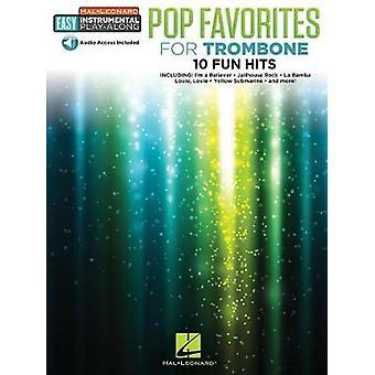 Instrumental Play-Along - Pop Favourites - Trombone (Book/Audio) by Ha