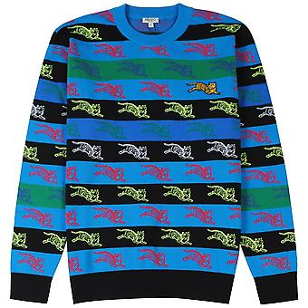 Kenzo Leaping Tiger Stripped Jumper