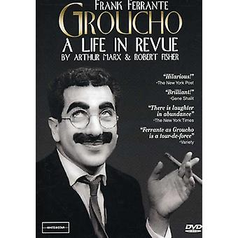 Groucho a Life in Review [DVD] USA import