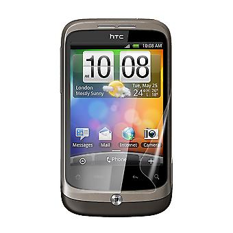 Celicious Vivid Plus Mild Anti-Glare Screen Protector Film Compatible with HTC Wildfire [Pack of 2]