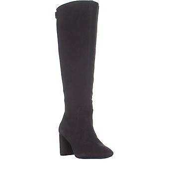A35 Nessiil Wide Calf Knee High Boots, Anthracite Gray