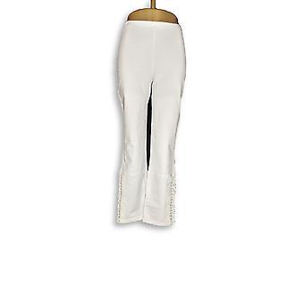 Femmes avec Control Women-apos;s Pantalon Slim Leg Ankle Pantalon blanc A265427