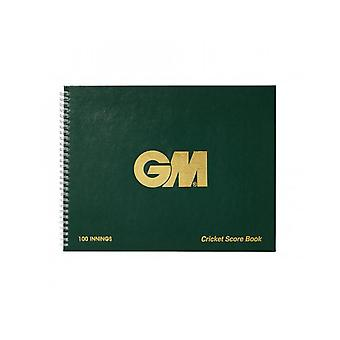 Gunn & Moore GM Accessories 100 Innings Round Scorebook Game Analysis