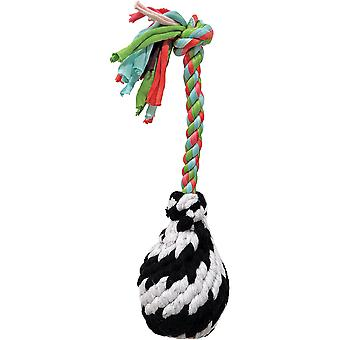 Super Scooch Squeak Rope R Ball Dog Toy 9