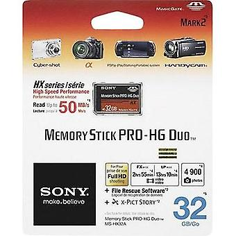 MemoryStick® PRO Duo card 32 GB Sony Pro-HG Duo HX