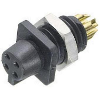 Binder 09-9750-30-03 09-9750-30-03 Sub-miniature Circular Connector Series Nominal current: 3 A Number of pins: 3