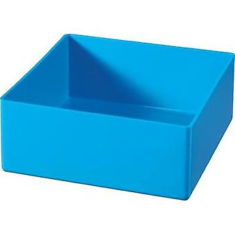 Alutec 622300 Blue insert compartment for organiser boxes 108 x 108 x 45 mm