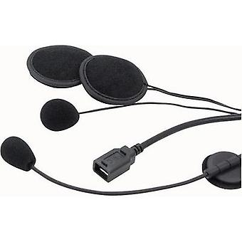Heaset with microphone IMC OH-FW 3081 Suitable for Jet helmet
