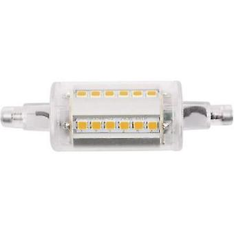 LED R7s Tubular 4.5 W Warm white (Ø x L) 24 mm x 78 mm EEC: A++ LightMe 1 pc(s)
