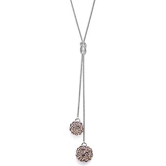 Crystal Mesh Ball Pendant Necklace PMB112.3