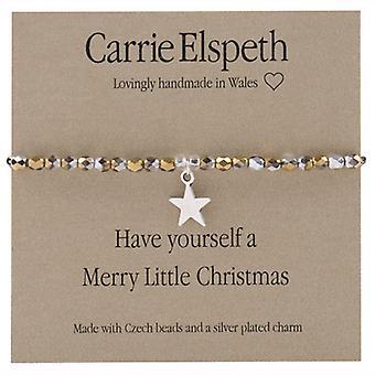 Carrie Elspeth Merry Little Christmas følelser Stretch armbånd