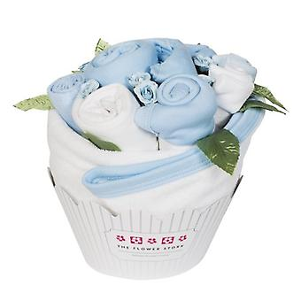 Cupcake Bouquet - Cornflower Blue