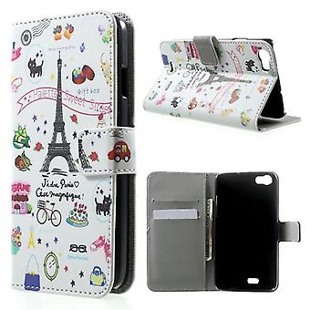 Eiffel Tower supported cover and door cards for Kiritkumar Lenny