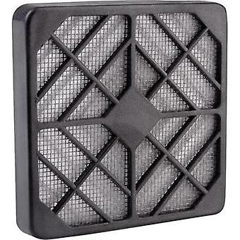 Fan grille with built-in filter (W x H) 8 cm x 8 cm Wallair N40977