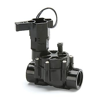 "Rain Bird 100-DV: 1"" BSP female threaded inlet and outlet Plastic Electric Valve"