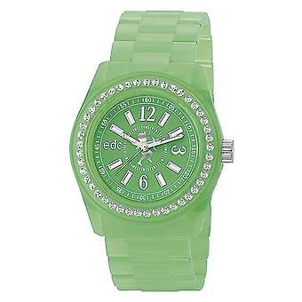 EDC by ESPRIT watch wrist watch ladies Discoglam Afterglow green EE900172020