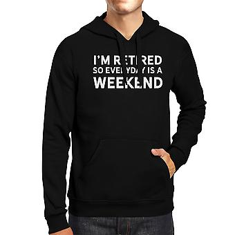 Everyday Is A Weekend Hoodie Cute Christmas Gift For Grandparents