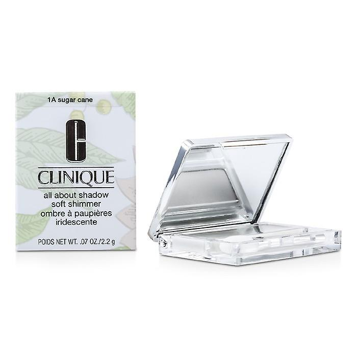 Clinique All About Shadow - # 1A Sugar Cane (Soft Shimmer) 2.2g/0.07oz