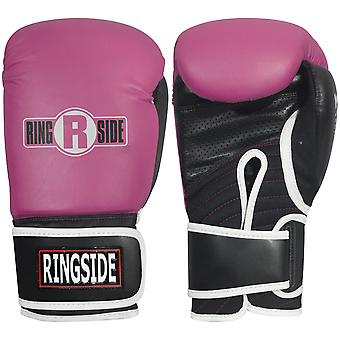 Ringside IMF Tech Bag Boxing Gloves - Pink
