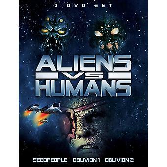 Aliens vs humanos [DVD] los E.e.u.u. la importación