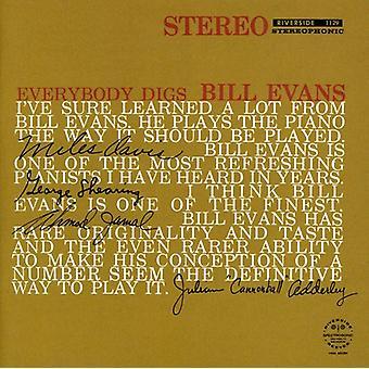 Bill Evans - alle graver Bill Evans [CD] USA import