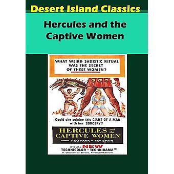 Hercules & the Captive Women [DVD] USA import