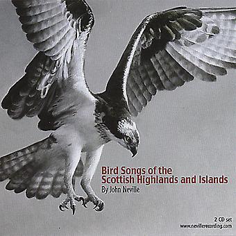 John Neville - chants d'oiseaux de l'importation USA Scottish Highlands & îles [CD]