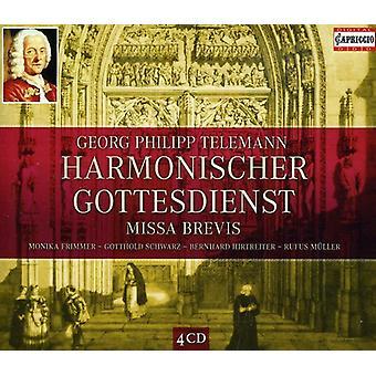 G.P. Telemann - RIA Philipp Telemann: Harmonischer Gottesdienst; Importación de los E.e.u.u. de la Missa Brevis [CD]