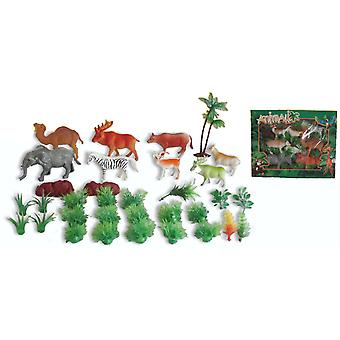 Reig Caja 8 Animales Selva 33X26 (Toys , Dolls And Accesories , Miniature Toys , Animals)