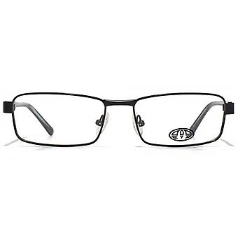 Animal Blake Soft Rectangle Glasses In Black