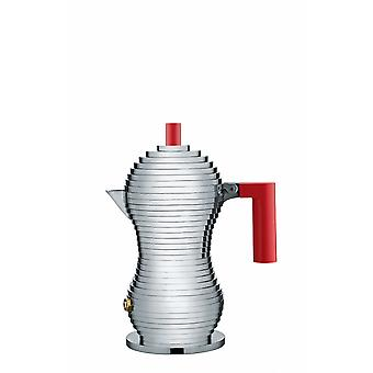 Alessi Pulcina Espresso Coffee Maker - 1 Cup - Red